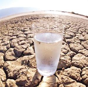 Hacia la escasez global de agua dulce