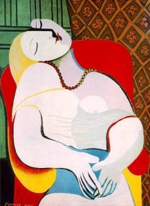 """""""El sueño"""" Pablo Picasso 1932"""